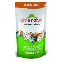Almo Nature Orange Label Сухой корм для кастрированных котов и стерилизованных кошек с индейкой