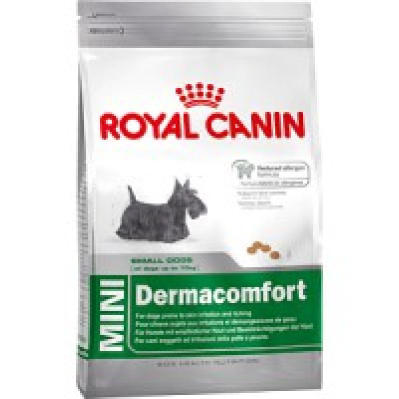 Royal Canin Mini Dermacomfort 26 Корм для собак, склонных к кожным раздражениям и зуду