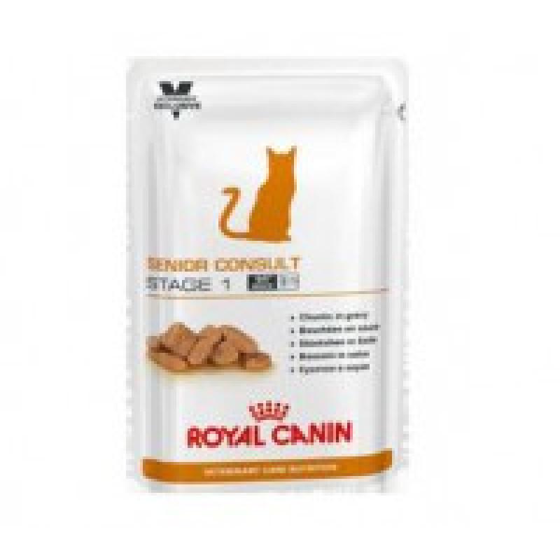 RC Senior Consult Stage 1 пауч д/кастрированных котов и кошек от 7 до 10 лет 100г