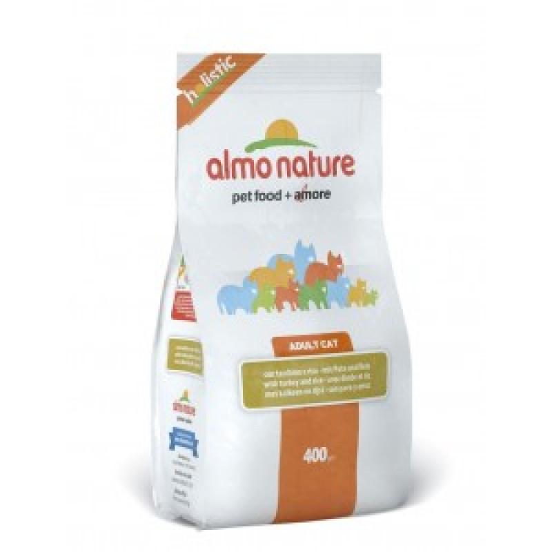 Almo Nature Holistic Сухой корм для взрослых кошек с индейкой