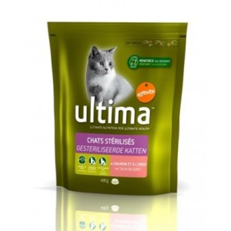 Ultima Adult Salmon&Rice Сухой корм для кошек Лосось с рисом 350 г