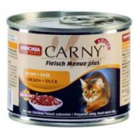 Animonda Garny Adult Консервы для кошек с курицей и уткой