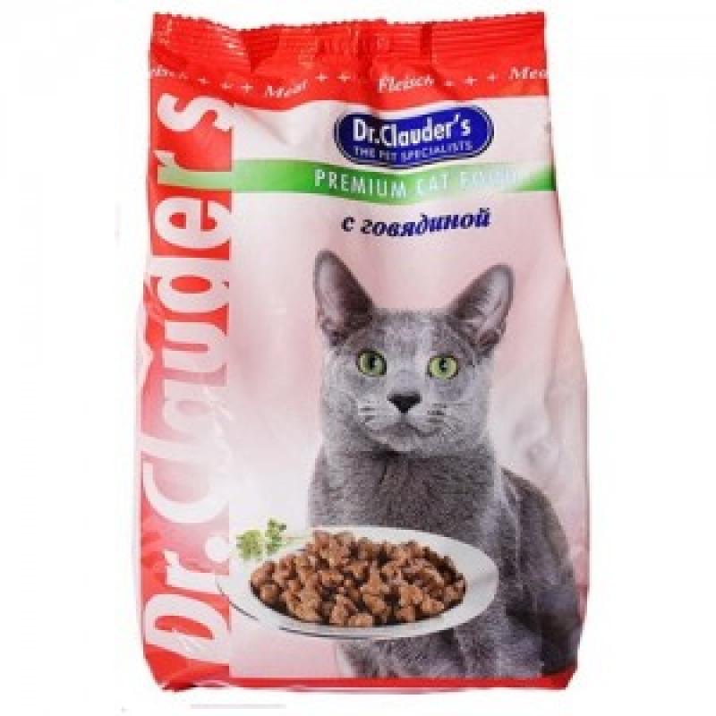 DrClauders Говядина Корм для кошек с говядиной
