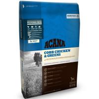 Acana Heritage Cobb Chicken & Greens Сухой корм для собак всех пород и возрастов, с цыпленком