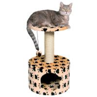 """TRIXIE Домик д/кошек """"Toledo"""" кошачьи лапки, бежевый высота 61см"""
