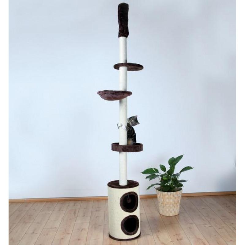 """TRIXIE  Домик д/кошек """"Linea"""" коричневый высота 225-265см"""