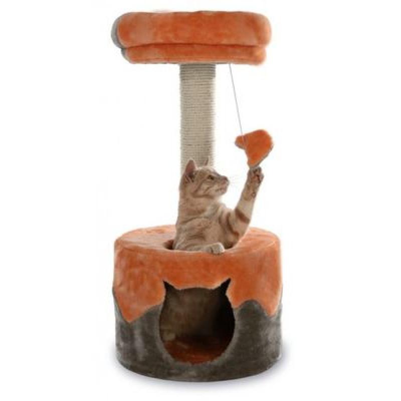 "TRIXIE Домик для кошки ""Nuria"" 71см бежевый/коричневый"