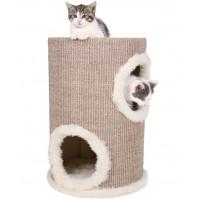 """TRIXIE  Домик д/кошек """"Башня"""" коричневый/беж. ф33/50см"""