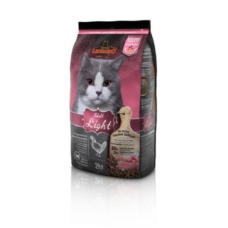 Leonardo Light Корм для кошек с избыточным весом и стерилизованных 7.5кг