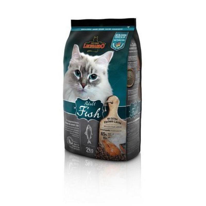Leonardo Adult Sensitive с океанической рыбой и рисом Для взрослых кошек в возрасте от года с чувствительным пищеварением