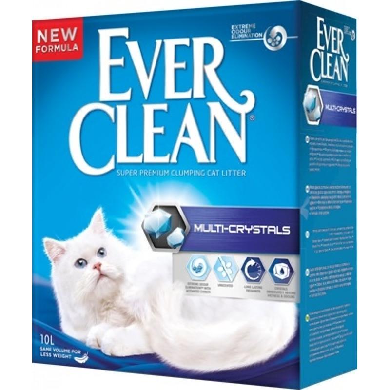 Ever Clean Multi-Crystal Blend Наполнитель для кошек с добавление кристалов, максимальный контроль