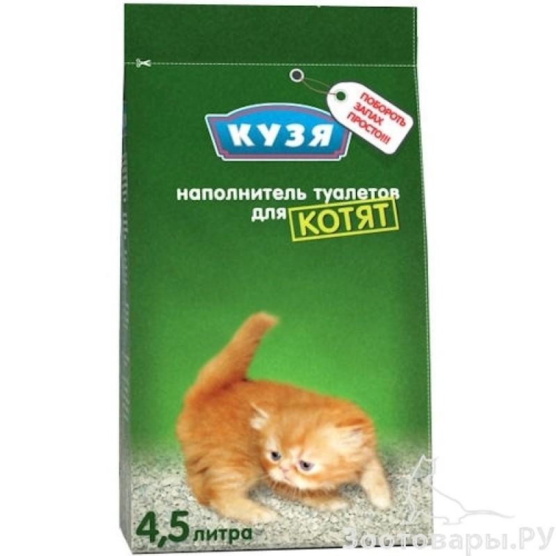 Кузя для Котят Наполнитель для котят