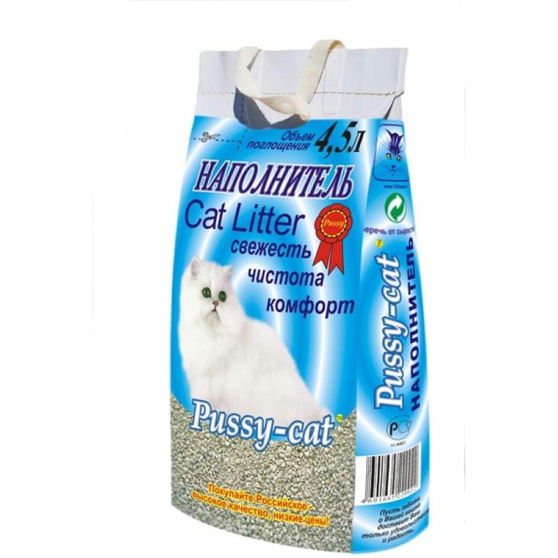 Pussy Cat Цеолитовый Наполнитель для кошек