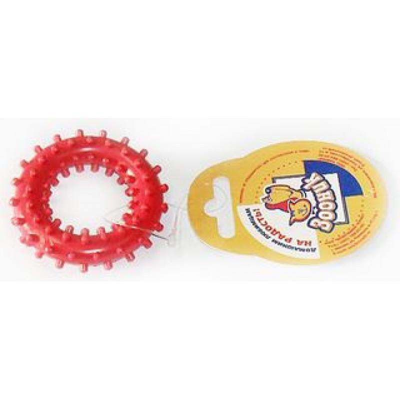 Зооник Игрушка д/собак Кольцо с шипами №2 ф68мм