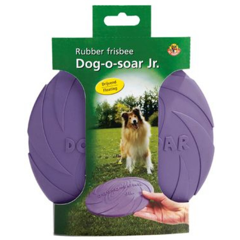 "Игрушка д/собак ""Фрисби Dog-o-soar"", резина, в ассорт. 22см"