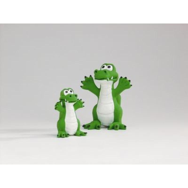 """Игрушка д/собак """"Зеленый крокодил"""", латекс 12см/180"""
