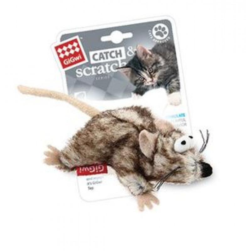 Игрушка д/кошек Мышка с кошачей мятой 1*96
