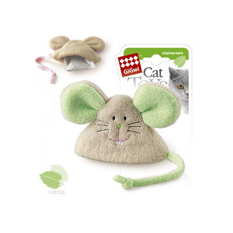 Игрушка д/кошек Мышка с кошачьей мятой