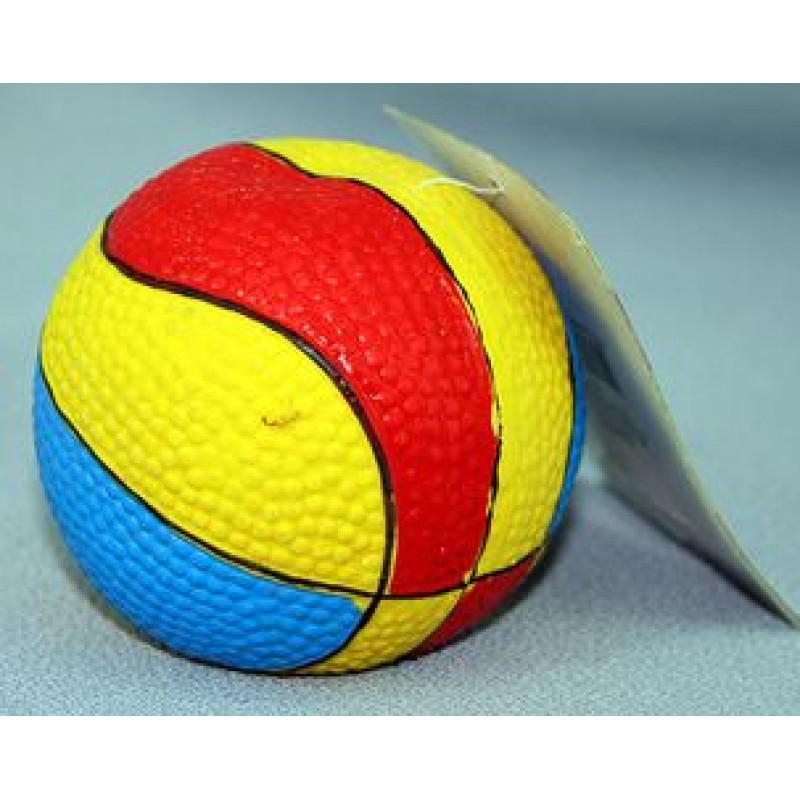 Игрушка д/собак Мяч баскетбольный, латекс d7см  *40*200