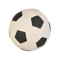 """Игрушка д/собак """"Мяч футбольный"""", мягкая резина ф9см"""