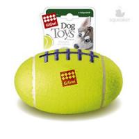 Игрушка д/собак Мяч с пищалкой Средний 13см*96