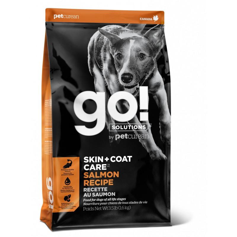 GO!™ SENSITIVITY + SHINE™ Для Щенков и Собак со свежим Лососем и овсянкой