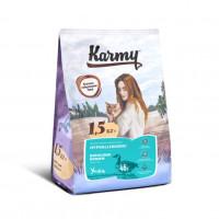 KARMY  Гипоаллергенный д/кошек, склонных к пищевой аллергии Утка