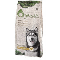 Organix Adult Dog Chicken  корм для взрослых собак всех пород, с курицей и рисом 18кг