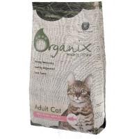 Organix й монобелковый корм с лососем для взрослых кошек с чувствительным пищеварением