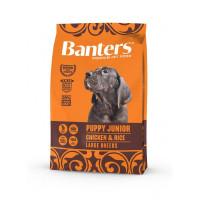 Banters Puppy Junior Large Chicken&Rice Полнорационный корм для щенков крупных и гигантских пород до 15 месяц