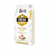 Brit Fresh Chicken With Potato Adult Great Life  корм со свежей курицей и картофелем для взрослых собак