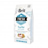 Brit Fresh Fish & Pumpkin Adult Large Muscles & Joints корм со свежей рыбой и тыквой для взрослых собак крупных пород  12 кг