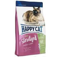 Happy Cat Sterilised Lamm Корм для кастрированных котов и стерилизованных кошек на основе ягненка
