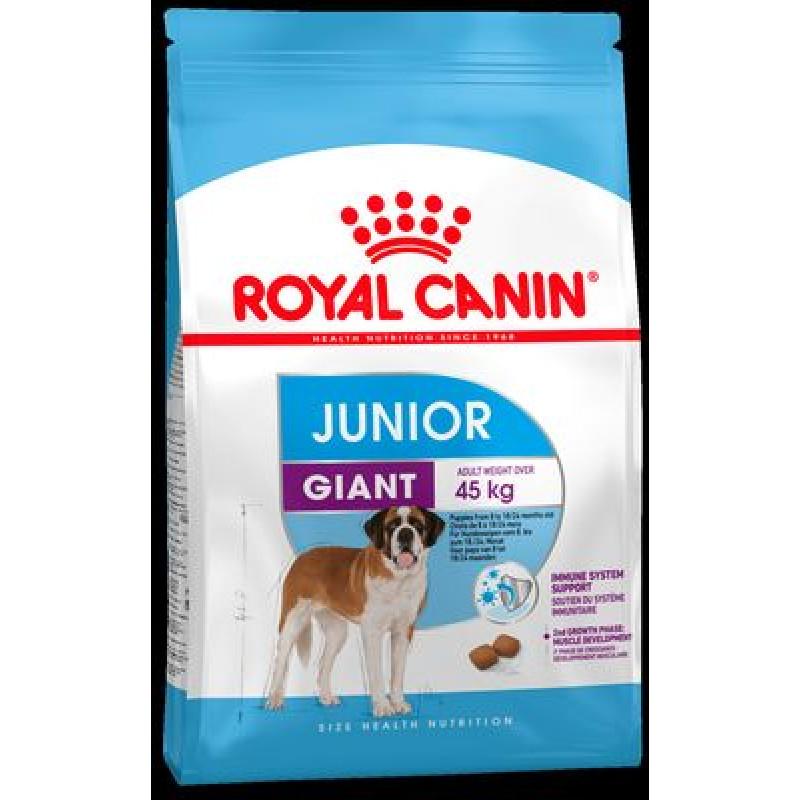 Royal Canin Giant Junior Active Корм для гиганстких щенков с 8 до 18/24 месяцев 15кг