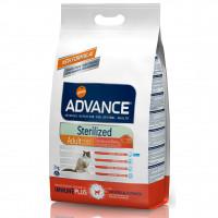 Advance Cat Sterilized Sensitive Salmon&Barley Сухой корм для стерилизованных кошек с чувствительным пищеварением, с лососем и ячменем