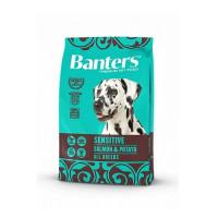 Banters Sensitive Salmon&Potato Полнорационный корм для взрослых собак любой породы с чувствительной пищеварительной системой, с лососем и картофелем