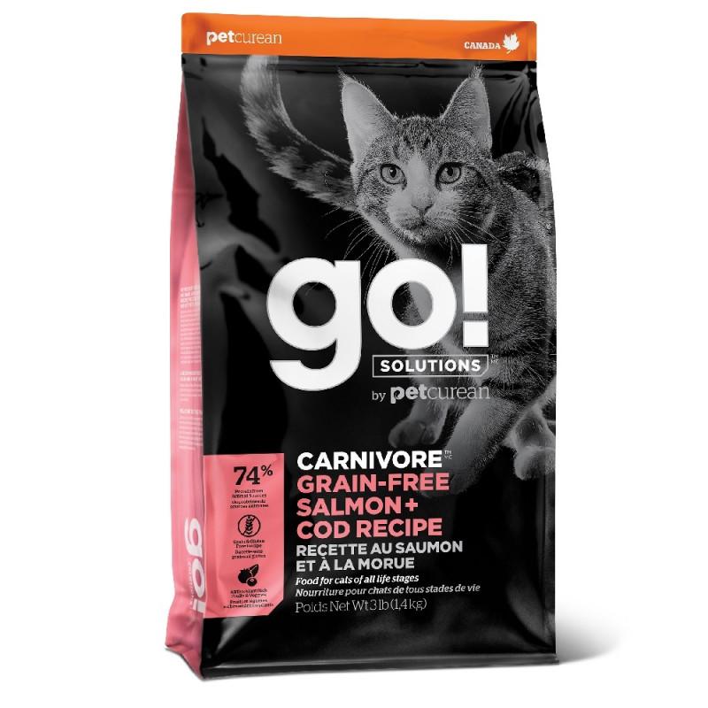 Беззерновой корм для Котят и Кошек с Лососем и Треской