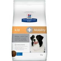 Hill's Prescription Diet k/d + Mobility Kidney+Joint Care Сухой диетический корм для собак для поддержания здоровья почек и суставов одновременно