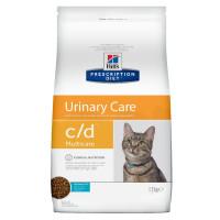 Hill's Prescription Diet c/d Multicare Urinary Care Cухой диетический корм для кошек для поддержания здоровья мочевыводящих путей с океанической рыбой