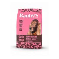 Banters Senior Light Chicken&Rice Полнорационный корм для пожилых собак старше 7 лет и собак склонных к набору избыточного веса