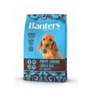 Banters Puppy Junior Lamb&Rice Полнорационный корм для щенков всех пород, беременных и кормящих сук, с ягненком