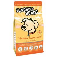 """BBARKING HEADS Корм д/собак с чувствительным пищеварением с курицей и рисом """"До последнего кусочка"""""""
