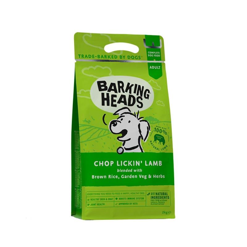 Barking Heads Роскошная шевелюра .Сухой корм для взрослых собак с ягненком