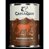CANAGAN полнорационный влажный корм для собак, пастуший пирог 400г