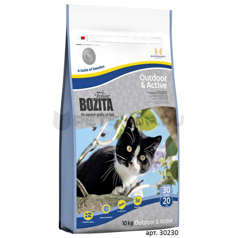 Bozita Funktion Adult – Outdoor - Active Корм для взрослых кошек с повышенной активностью