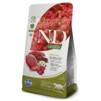 FARMINA N&D New Quinoa Adult Urinary беззерновой для кошек, профилактика МКБ Утка с киноа