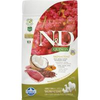 FARMINA N&D  New беззерновой корм д/собак для здоровья кожи и шерсти Утка с Киноа