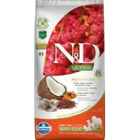 Farmina N&D New Беззерновой корм для взрослых собак всех пород для кожи и шерсти, с сельдью, киноа, кокосом и куркумой