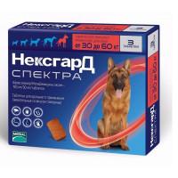 Фронтлайн Нексгард Спектра для собак весом 30-60 кг