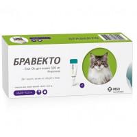Bravecto / Бравекто  Спот Он для кошек (500 мг) 6,25-12,5 кг